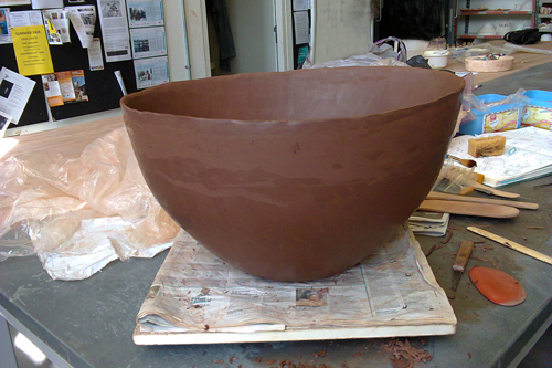 large coil bowl